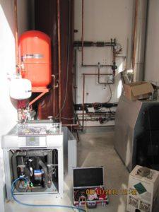 TČ tip zemlja voda kjer izkoriščamo toplotno energijo potoka