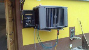 hladilni agregat za hlajenje velike kleti