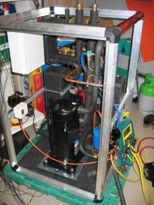izdelava TČ voda voda 20kw v visokotemperaturni izvedbi