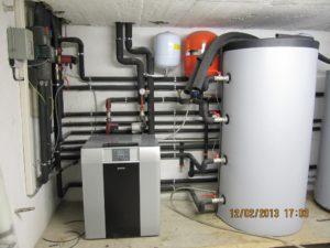 z odpadno toploto generatorja male hidro elektrarne ogrevamo hišo